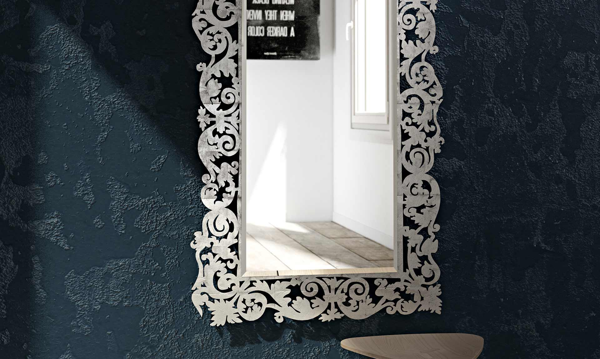 Specchio classico romantico meroni arreda - Specchio romantico riflessi prezzo ...
