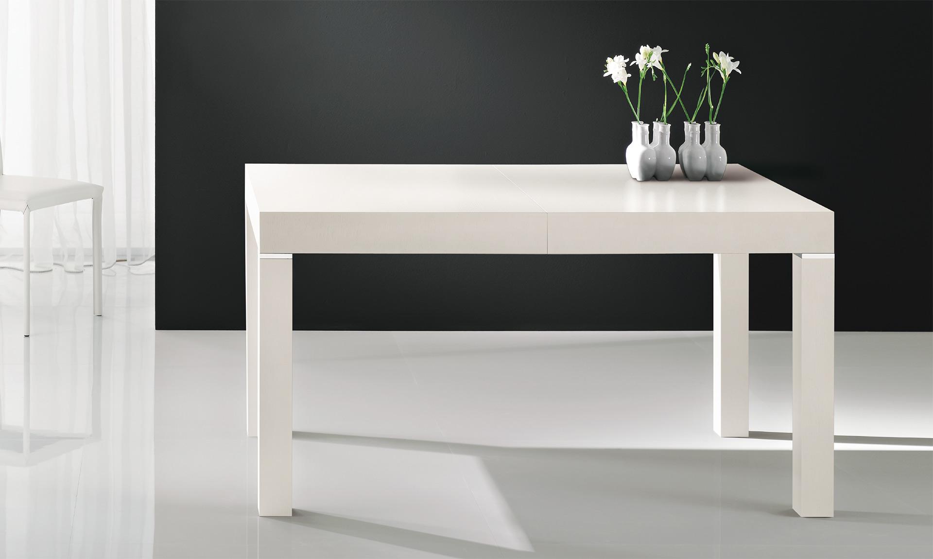 Tavolo in legno club meroni arreda - Tavolo quadrato allungabile moderno ...