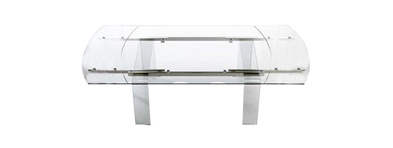 Tavoli Ovali Allungabili In Vetro.Tavolo Ovale Allungabile In Vetro Lord Meroni Arreda