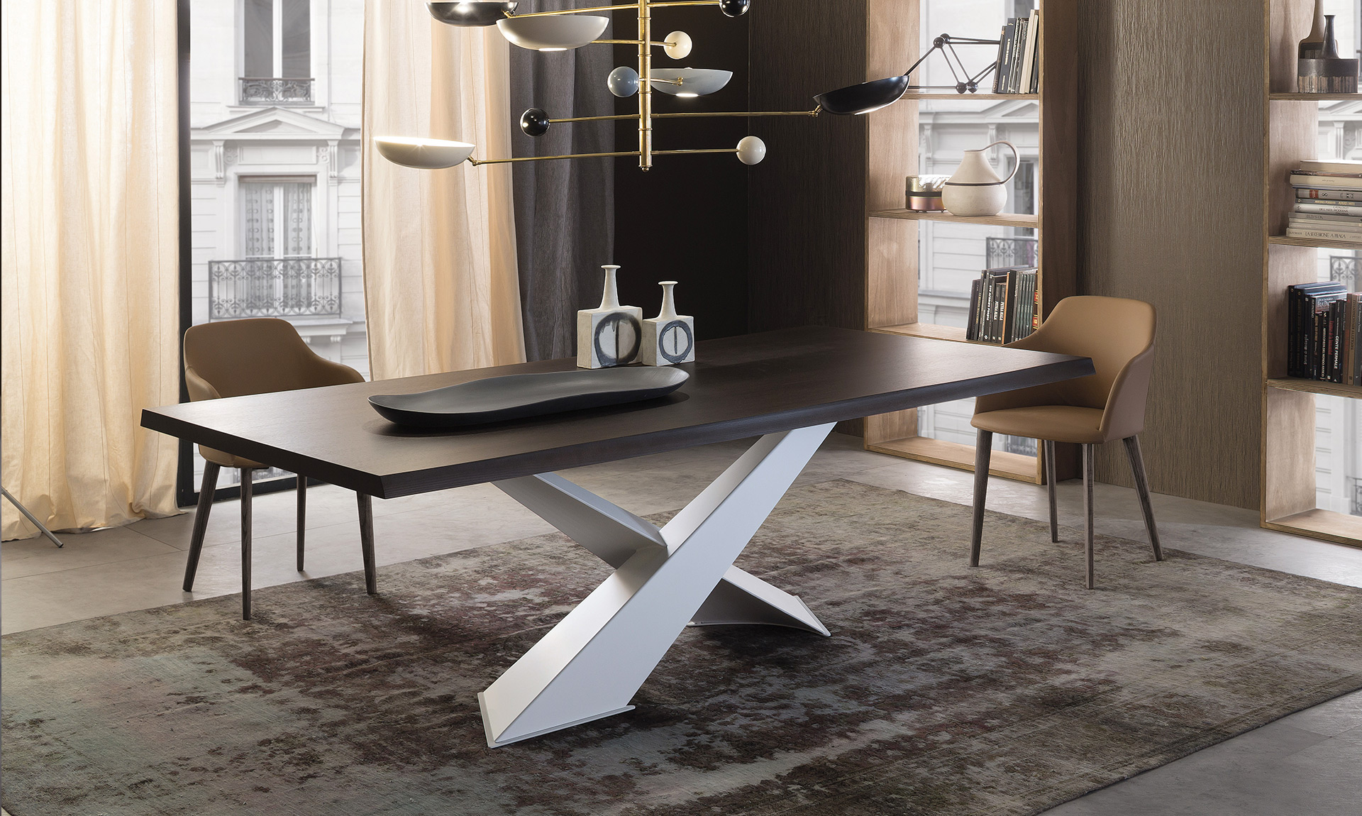 Tavolo moderno Living - Meroni Arreda