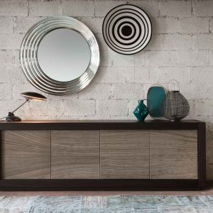 sideboard-picasso-p12-river-grey-with-wenge-frame-by-riflessi