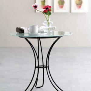 fiocco tavolino tondo