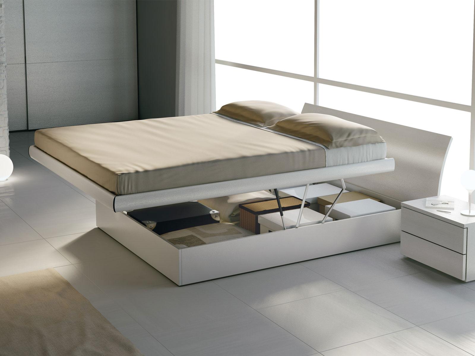 Design 21 meroni arreda for Letto in legno con contenitore