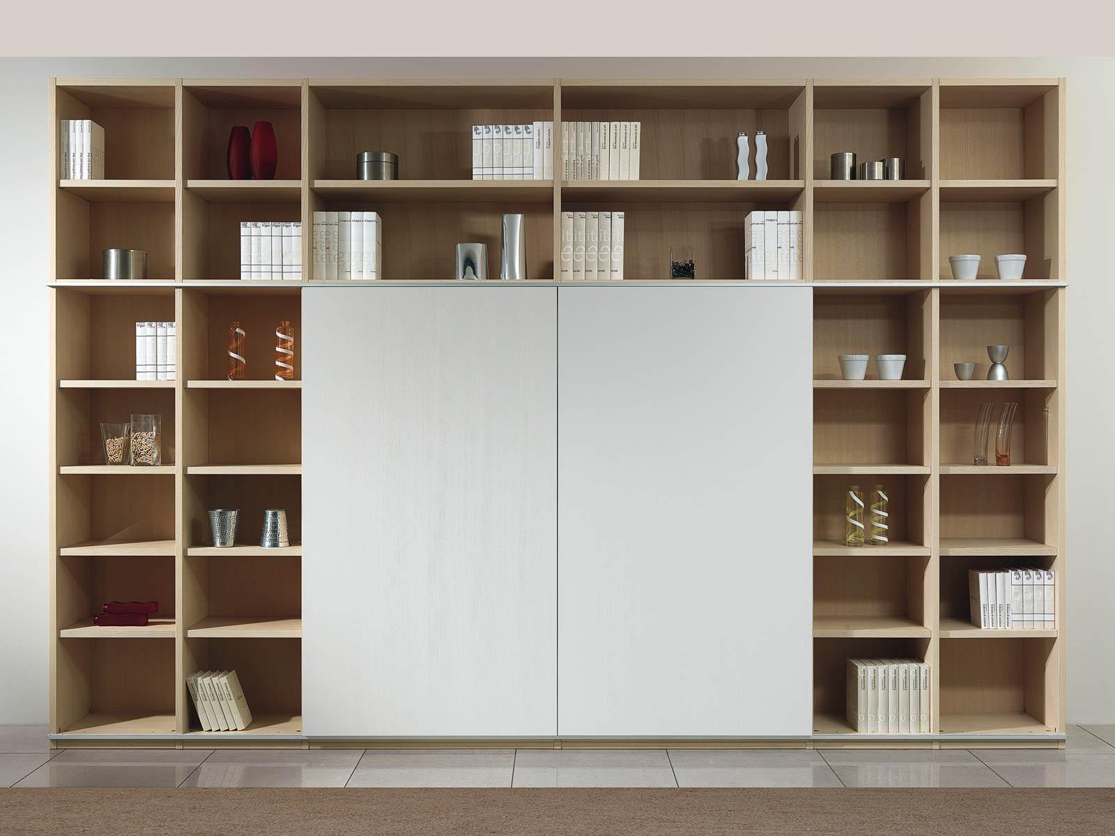 Librerie 3 meroni arreda - Libreria con porta ...